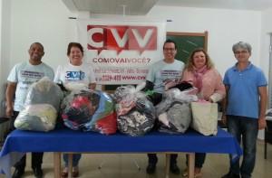cvv entrega doação